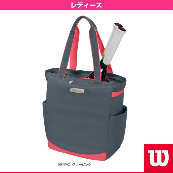 Women's TOTE GYPK/トートバッグ グレーピンク/レディース(WRZ863797)《ウィルソン テニス バッグ》