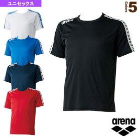 チームラインTシャツ/ユニセックス(ARN-6331)《アリーナ オールスポーツ ウェア(メンズ/ユニ)》