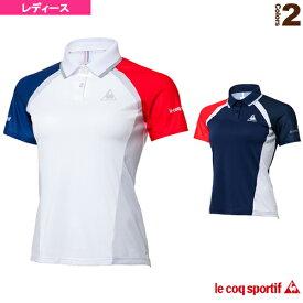 NEXTEP 半袖ポロシャツ/レディース(QT-715173)《ルコック テニス・バドミントン ウェア(レディース)》