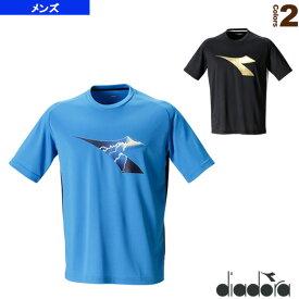 EVOプラクティスシャツ/メンズ(DTP7583)《ディアドラ テニス・バドミントン ウェア(メンズ/ユニ)》