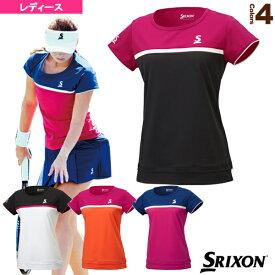 ゲームシャツ/レディース(SDP-1760W)《スリクソン テニス・バドミントン ウェア(レディース)》テニスウェア女性用