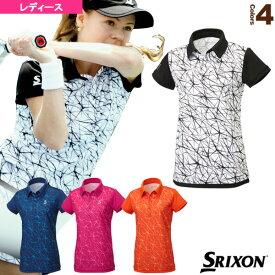 ポロシャツ/レディース(SDP-1762W)《スリクソン テニス・バドミントン ウェア(レディース)》テニスウェア女性用