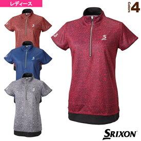 ジップシャツ/レディース(SDP-1766W)《スリクソン テニス・バドミントン ウェア(レディース)》テニスウェア女性用