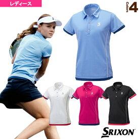 ポロシャツ/レディース(SDP-1768W)《スリクソン テニス・バドミントン ウェア(レディース)》テニスウェア女性用