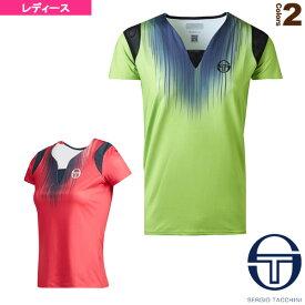 STARDUST T-SHIRT/スターダストTシャツ/NEW YORKシリーズ/レディース(37305)《セルジオタッキーニ テニス・バドミントン ウェア(レディース)》