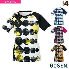 ゲームシャツ/レディース(T1805)《ゴーセン テニス・バドミントン ウェア(レディース)》