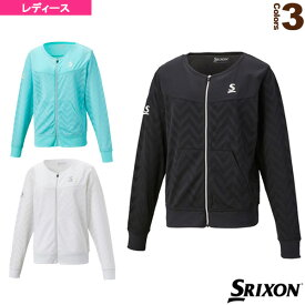 メッシュジャケット/レディース(SDF-5821W)《スリクソン テニス・バドミントン ウェア(レディース)》テニスウェア女性用