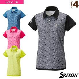 ポロシャツ/レディース(SDP-1826W)《スリクソン テニス・バドミントン ウェア(レディース)》テニスウェア女性用