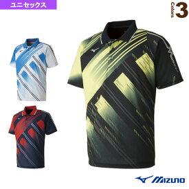 ゲームシャツ/ユニセックス(62JA8001)《ミズノ テニス・バドミントン ウェア(メンズ/ユニ)》バドミントンウェア男性用