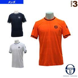 レトロ Tシャツ/RETRO T-SHIRT/メンズ(37437)《セルジオタッキーニ テニス・バドミントン ウェア(メンズ/ユニ)》