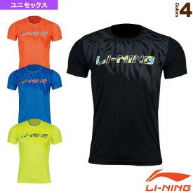 トレーニングTシャツ/ユニセックス(AHSN211)《リーニン テニス・バドミントン ウェア(メンズ/ユニ)》