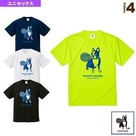 Tennis Junky/迷彩テニス+4/ドライTシャツ/ユニセックス(TJ18012)《テニスジャンキー テニス・バドミントン ウェア(メンズ/ユニ)》