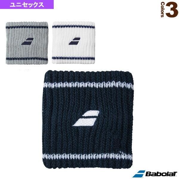 リストバンド/ユニセックス(BTAMJD00)《バボラ テニス アクセサリ・小物》