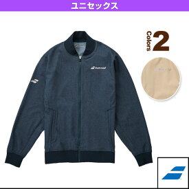 デニムジャケット/カラープレイライン/ユニセックス(BTUMJK43)《バボラ テニス・バドミントン ウェア(メンズ/ユニ)》