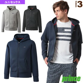 スウェットフーデッドジャケット/ユニセックス(WU8510)《プリンス テニス・バドミントン ウェア(メンズ/ユニ)》テニスウェア男性用