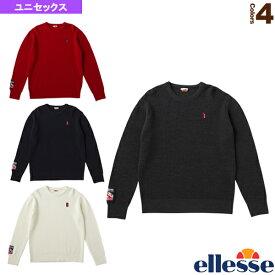 ヘリテージ エンブレムニットクルー/Emblem Knit Crew/ユニセックス(EH78300)《エレッセ テニス・バドミントン ウェア(メンズ/ユニ)》