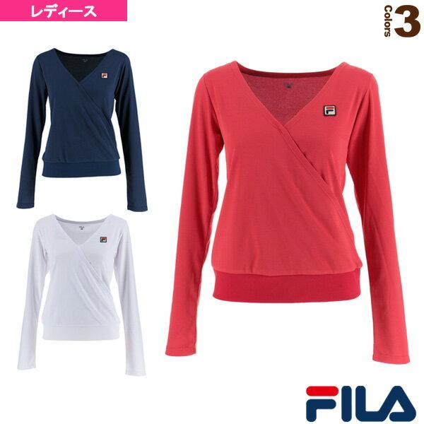 ロングスリーブシャツ/レディース(VL1831)《フィラ テニス・バドミントン ウェア(レディース)》