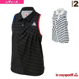 ノースリーブシャツ/SLEEVELESS SHIRT/レディース(QTWMJA00)《ルコック テニス・バドミントン ウェア(レディース)》