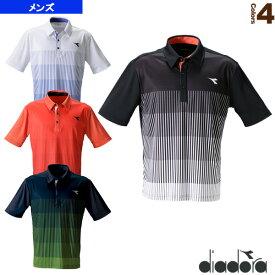 ゲームシャツ/メンズ(DTG9332)《ディアドラ テニス・バドミントン ウェア(メンズ/ユニ)》