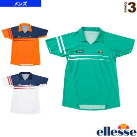 ショートスリーブツアーポロ/S/S Tour Polo/メンズ(EM09101)《エレッセ テニス・バドミントン ウェア(メンズ/ユニ)》