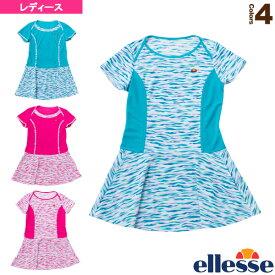 ショートスリーブクールドットドレス/S/S Cool Dot Dress/レディース(EW09119)《エレッセ テニス・バドミントン ウェア(レディース)》