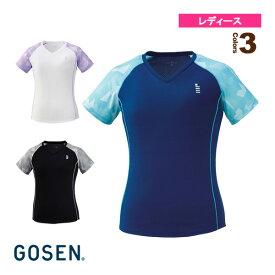 ゲームシャツ/レディース(T1921)《ゴーセン テニス・バドミントン ウェア(レディース)》
