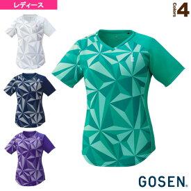 ゲームシャツ/レディース(T1931)《ゴーセン テニス・バドミントン ウェア(レディース)》