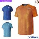 ゲームシャツ/ユニセックス(62JA9101)《ミズノ テニス・バドミントン ウェア(メンズ/ユニ)》