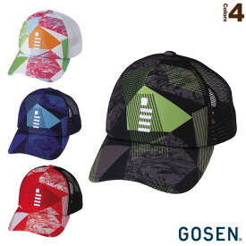 2019年春企画 GOSENキャップ/GAME(C19P02)《ゴーセン テニス アクセサリ・小物》