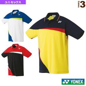 ゲームシャツ/スタンダードサイズ/ユニセックス(10306)《ヨネックス テニス・バドミントン ウェア(メンズ/ユニ)》