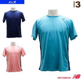 ショートスリーブゲームTシャツ/メンズ(JMTT9136)《ニューバランス テニス・バドミントン ウェア(メンズ/ユニ)》