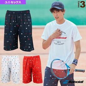 ショートパンツ/カラープレイライン/ユニセックス(BTUNJD03)《バボラ テニス・バドミントン ウェア(メンズ/ユニ)》