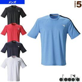 トップ/メンズ(DTP9522)《ディアドラ テニス・バドミントン ウェア(メンズ/ユニ)》