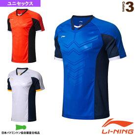 トレーニングTシャツ/ユニセックス(AAYL189)《リーニン テニス・バドミントン ウェア(メンズ/ユニ)》