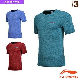 トレーニングTシャツ/ユニセックス(ATSN051)《リーニン テニス・バドミントン ウェア(メンズ/ユニ)》