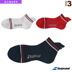 アンクルソックス/ユニセックス(BTAOJB02)《バボラ テニス・バドミントン ウェア(メンズ/ユニ)》