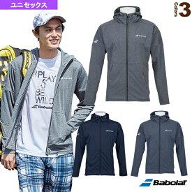 デニムジャケット/カラープレイライン/ユニセックス(BTUOJK43)《バボラ テニス・バドミントン ウェア(メンズ/ユニ)》