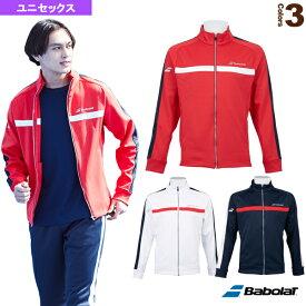 フリースジャケット/カラープレイライン/ユニセックス(BTUOJK44)《バボラ テニス・バドミントン ウェア(メンズ/ユニ)》