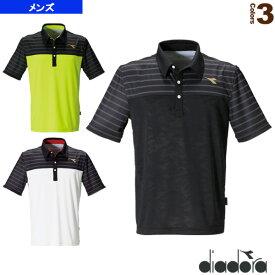 game pack/ゲームシャツ/メンズ(DTG9386)《ディアドラ テニス・バドミントン ウェア(メンズ/ユニ)》