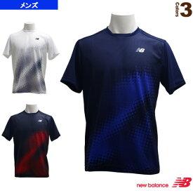 グラフィックショートスリーブTシャツ/メンズ(JMTT9150)《ニューバランス テニス・バドミントン ウェア(メンズ/ユニ)》