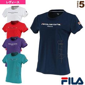 グラフィックTシャツ/レディース(VL2045)《フィラ テニス・バドミントン ウェア(レディース)》