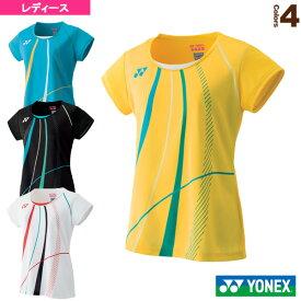 ゲームシャツ/スリムタイプ/レディース(20473)《ヨネックス テニス・バドミントン ウェア(レディース)》