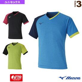 ゲームシャツ/ユニセックス(82JA0003)《ミズノ 卓球 ウェア(メンズ/ユニ)》