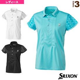 ポロシャツ/ツアーライン/レディース(SDP-1024W)《スリクソン テニス・バドミントン ウェア(レディース)》
