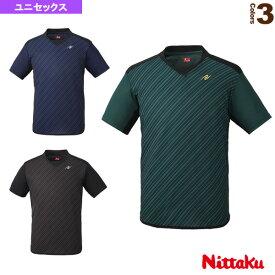 スライプシャツ/ユニセックス(NW-2198)《ニッタク 卓球 ウェア(メンズ/ユニ)》