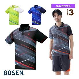 ゲームシャツ/ユニセックス(T2040)《ゴーセン テニス・バドミントン ウェア(メンズ/ユニ)》