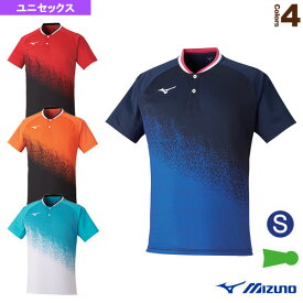 ゲームシャツ/ユニセックス(62JA0501)《ミズノ テニス・バドミントン ウェア(メンズ/ユニ)》