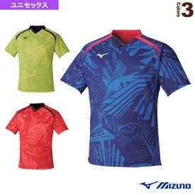 ゲームシャツ/ユニセックス(82JA0001)《ミズノ 卓球 ウェア(メンズ/ユニ)》