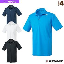 ポロシャツ/ユニセックス(DAP-1044)《ダンロップ テニス・バドミントン ウェア(メンズ/ユニ)》