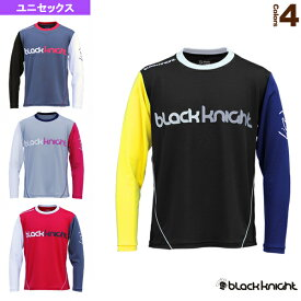 ロングTシャツ/ユニセックス(T-0200LTORG)《ブラックナイト テニス・バドミントン ウェア(メンズ/ユニ)》